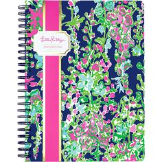 Lilly Pulitzer Lilly Pulitzer Mini Notebook (6.505 CLP) ❤ liked on Polyvore featuring home, home decor, stationery, school supplies and filler