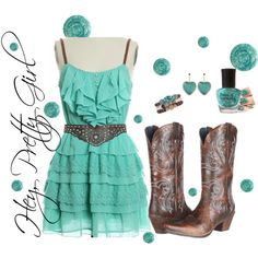 """Country Girl"" by annabri78 on Polyvore"