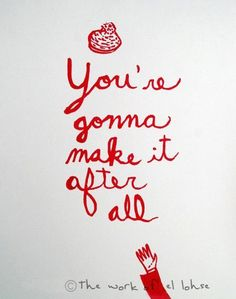 You're Gonna Make it After All ... inspired by Mary Tyler Moore | CheeryOde on Etsy