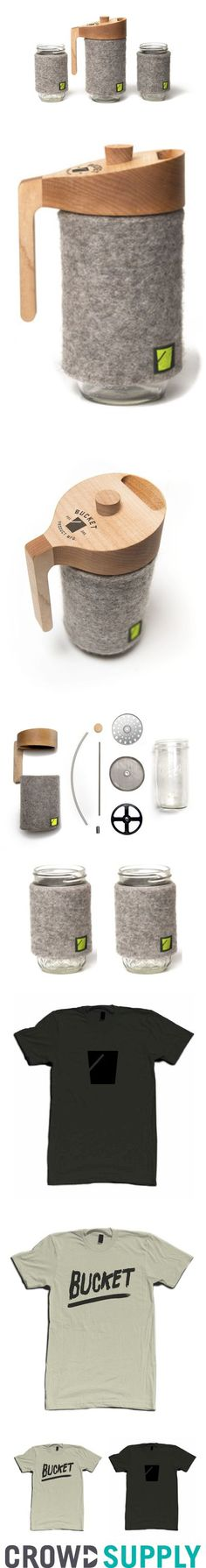 The Portland Press: A french press for your mason jar