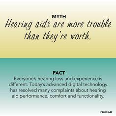 Hearing Aid Myth vs. Fact