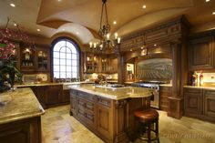 Luxury Kitchen Designs With Island