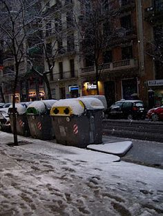 Barcelona Snow: Better Late than Never
