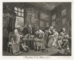 The Satirical Cartoons of William Hogarth | Orwellwasright's Weblog
