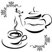 Teapot And Cup Royalty Free Cliparts, Vectors, And Stock Illustration. Image 10238999.