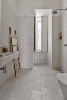 Bathroom Tour from Bungalow Tile | Subway tiles, Dream bathrooms and ...