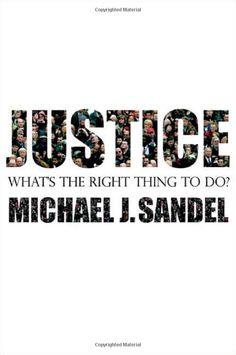 Justice Michail J. Sandel