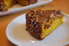 Pumpkin Coffee Cake SO SO SO good!! added extra pumpkin and nutmeg to the streusel, to die for! used wheat flower instead of white.