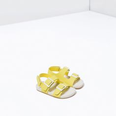 BUCKLED SANDALS WITH HOOK AND LOOP CLOSURE-SHOES-BABY BOY | 3 months-3 years-KIDS | ZARA Canada