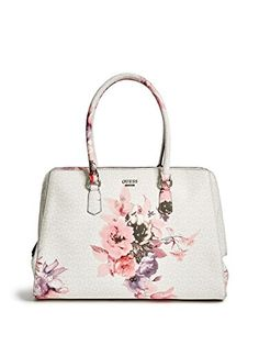 15c54c271b GUESS Linea Floral-Print Logo Box Satchel ( 118) ❤ liked on ...