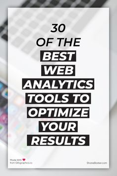 Discover 30 of the best web analytics tools to get more granular details on your website performance, customer happiness, and improvement opportunities. Event Marketing, Mobile Marketing, Marketing Plan, Business Marketing, Content Marketing, Internet Marketing, Social Media Marketing, Digital Marketing, Marketing Strategies