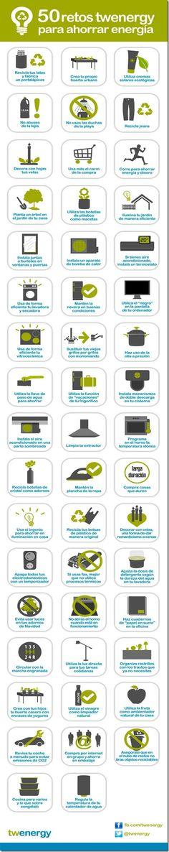 Tomen nota de estos 50 retos para ahorrar energía en casa, anímense y comiencen a ponerlos en práctica progresivamente; con el tiempo los tendrán todos con