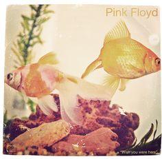 Pink Floyd, Wish You Were Here album cover via Nategonz