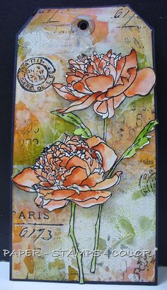 PAPER - STAMPS - COLOR: New TIMI challenge July 2016