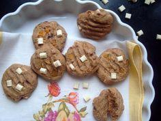 Citrónové cookies s bílou čokoládou Cookies, Food, Crack Crackers, Biscuits, Essen, Meals, Cookie Recipes, Yemek, Cookie