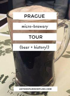 Prague Czech Beer Europe Travel Micro-Brewery