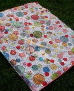 The Bubbly Quilt….