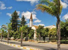 Vredendal church in South Africa