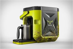 COFFEEBOXX  Meet the World´s toughest coffee maker, the COFFEEBOXX by OXX...