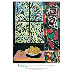 Henri Matisse: Interior with an Egyptian Curtain Poster - Posters & Prints - Wall Art - The Met Store
