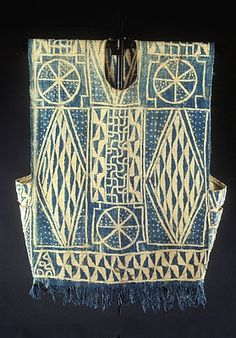 Africa | Tunic from the Bamileke, Bamum people of Cameroon.