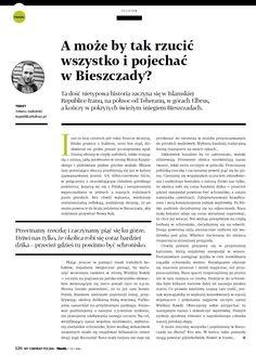 A może by tak rzucić wszytko i pojechać w Bieszczady? http://republikapodrozy.pl/a-moze-by-tak-rzucic-wszystko-i-pojechac-w-bieszczady/