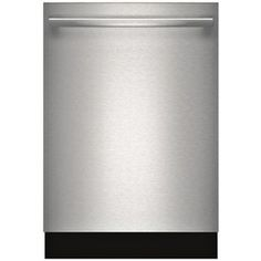 Bosch�Ascenta 24-in 49-Decibel Built-In Dishwasher with Stainless Steel Tub (Stainless Steel) ENERGY STAR
