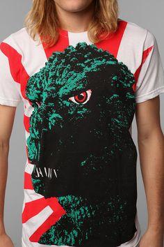 Godzilla Tee  #UrbanOutfitters