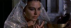 "Famous Actress Ava Gardner in a scene from movie "" Bhowani Junction ""- Lohore Pakistan 1954"
