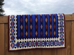 G143 Yucca Saddle Blanket