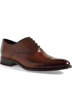 To Boot New York Brandon Cap Toe Oxford (Nordstrom Exclusive) (Men) King Shoes, Gents Shoes, To Boot New York, Mens Fashion Shoes, Shoes Men, Bridal Shoes, Leather Shoes, Dress Shoes, Men Dress