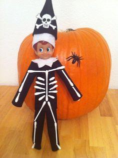 It's skeleton time! Halloween fun