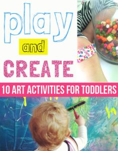 10 amazing art activities for toddlers