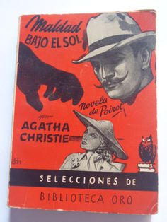 Agatha Christie CADAVER BIBLIOTECA BODY LIBRARY  Ed. Molino spanish illust