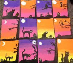 Resultado de imagen de halloween arts and crafts ideas