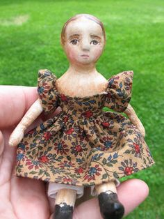 Here is a gallery of dolls that I've made over the years. Obviously I have been very inspired by Izannah Walker's wonderful dolls in ...