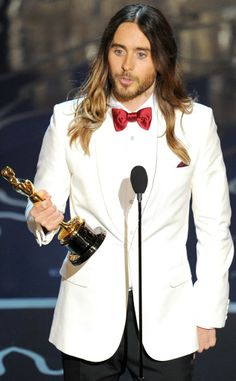 Jared Leto, #Oscar winner for Supporting Actor, Dallas Buyers Club