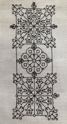 Color My World: Blackwork Bookmarks