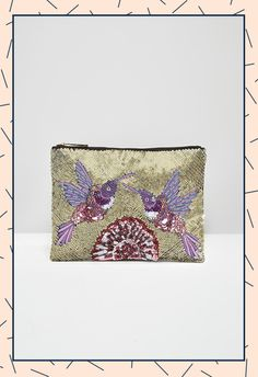 Summer sequins are most definitely a thing, and this treasure will also double up as a jewellery pouch to pack for your hols