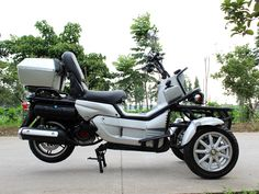 200cc Stand up Gas EPA Approved 3 Wheel Mobility Scooter