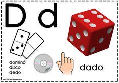 Asociamos los sonidos con las grafías convencionales - Letra D -