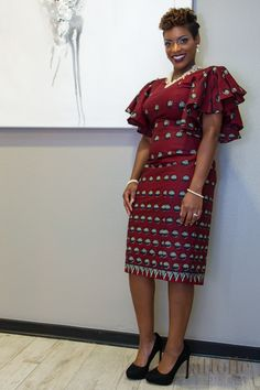 Latest Ankara Styles That Are So Fabulous African Dresses For Women, African Print Dresses, African Print Fashion, African Fashion Dresses, African Women, Fashion Prints, African Prints, Ankara Fashion, Fashion Styles