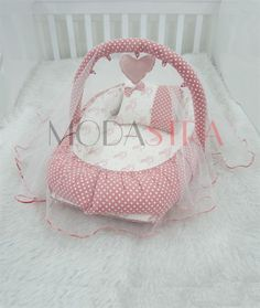 Modastra Powder Pink Design Toy Hanging and Mosquito Net Babynest Baby Girl Jackets, Mosquito Net, Pink Design, Designer Toys, Powder Pink, Cot, Baby Care, Bassinet, Cribs
