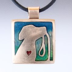 Dog Lover's Collection Resin Pendant, Piece Of Me, Leather Cord, Dog Lovers, Jewelry Design, Jewelry Making, Things To Come, Sweet, Dogs