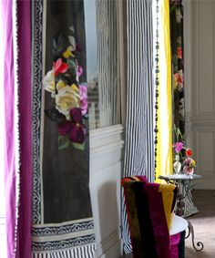 fabric/wallpaper print // Designers Guild Zephrine Palmieri Chartreuse