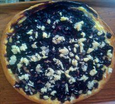 Borůvkový koláč s posypkou :)