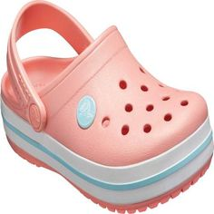 Shop our sporty line of Crocband clogs for kids. The bold stripe around the base of the clog is inspired by vintage sneakers, making them fun and exciting! Baby Girl Fall Outfits, Baby Girl Shoes, Kid Shoes, Shoe Boots, Crocs Crocband, Crocs Size, Vintage Sneakers, Sneakers Mode, Sneakers Fashion