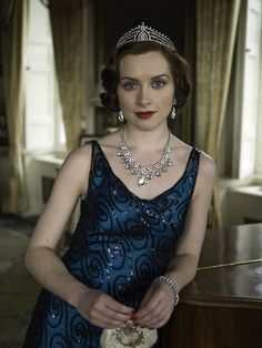 Lorna Nickson Brown as Lucinda Mesuriers in Poirot - The Labours of Hercules (TV Series, 2013).