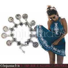 Esta #pulsera #boho-chic es perfecta para crear ideales looks de festival…