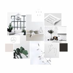 New inspiration board for a current branding design project / / I love the combo of strong, clean lines and softer curved elements. Can't wait to show you more! Layout Inspiration, Logo Design Inspiration, Moodboard Inspiration, Tableaux D'inspiration, Interior Design Boards, Magazine Layout Design, Identity, Palette, Minimalist Design